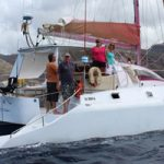 Compromise, winner in the multihull class. Picture: SHBC