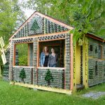 bottle house chelsea and Jaymie by Lee Prouten