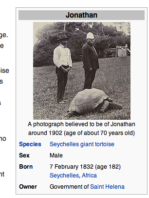 Jonathan exact birth date. If it's on Wikipedia, it must be true...